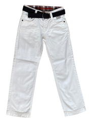 Denim Trousers with Belt