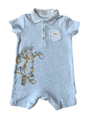 Jersey Polo Rompers / Tigger