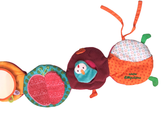 Juliette the Caterpillar : Discovery Panel Plush Toy