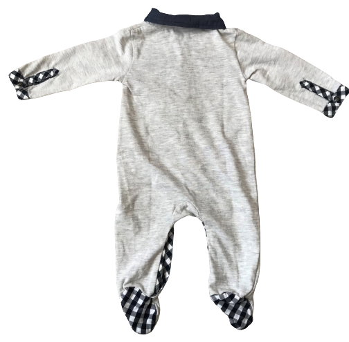 Jumpsuit / Sleepsuit with Collar