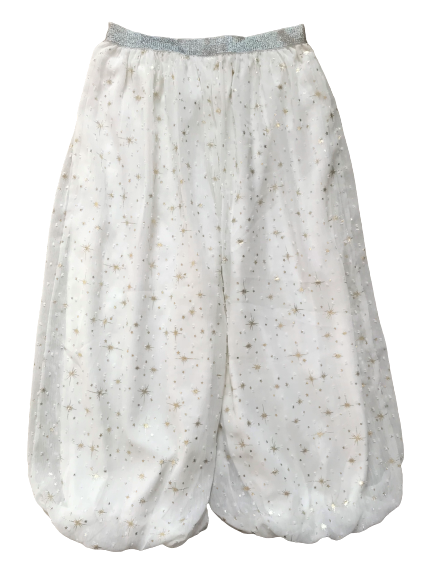 Stars print Culottes with Glittery Belt