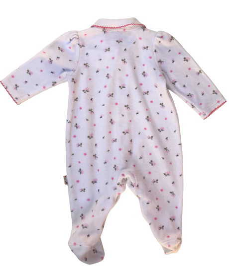 Winter Pyjama/Sleepsuit with Collar