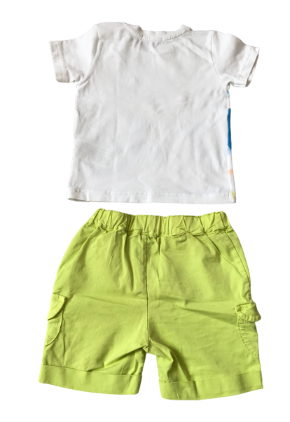 Set of 2 : T-Shirt and Cargo Shorts