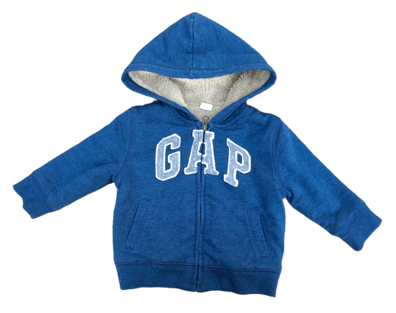 Sherpa Hooded Sweatshirt