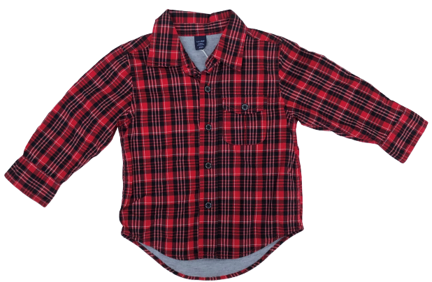 Checked Shirt with Lining