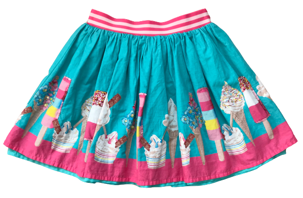 Ice-Cream Skirt with Sequins