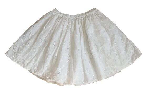Flared Skirt with Tulle Lining