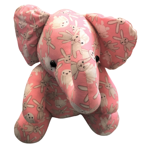 Stuffed Elephant with Bell