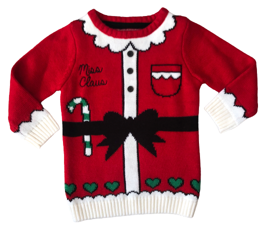 Christmas (Miss Claus) Sweater