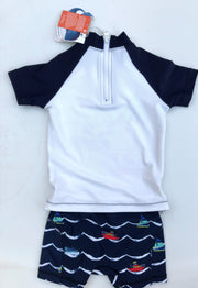 Swim set : Rash guard + Trunks - NEW