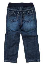 Lined Denim Trousers