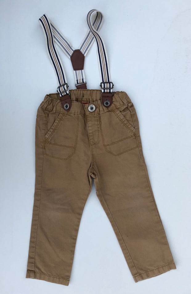 Trousers with Braces