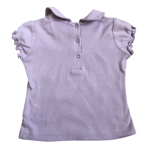 T-shirt with collar