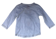 T-shirt with sequins motifs and lights