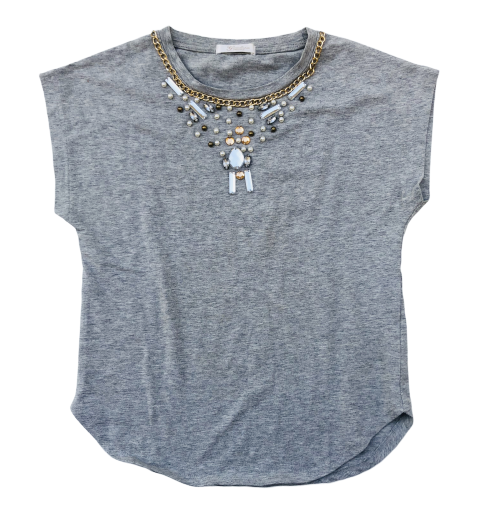 T-Shirt with Beads