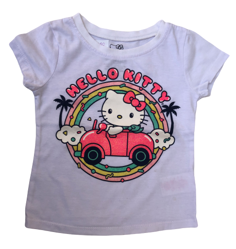 Glittery T-Shirt / Hello Kitty