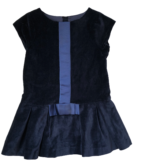 Velour Occasion Dress