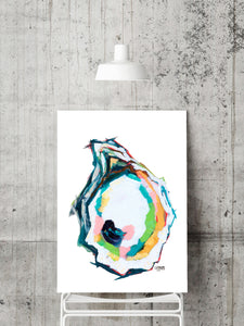 Abstract Oyster Prints Discount Set of 3
