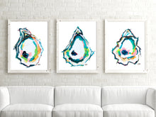 Load image into Gallery viewer, Abstract Oyster Prints Discount Set of 3