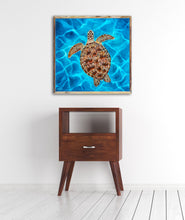 Load image into Gallery viewer, Luna the Sea Turtle Art Print by Alexandra Nicole