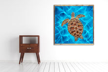 Load image into Gallery viewer, Sea Turtle Art Print by Alexandra Nicole