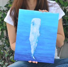 Load image into Gallery viewer, Whale Print with Blue Tones
