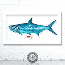 Load image into Gallery viewer, Tarpon Fish Print Silver King