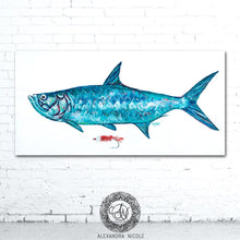 Load image into Gallery viewer, Silver King Fish Print