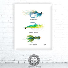 Load image into Gallery viewer, Fly Fishing Art Print by Alexandra Nicole