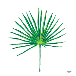 Palmetto Leaf Art Print