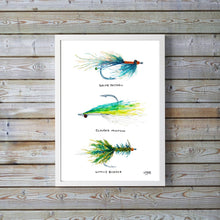 Load image into Gallery viewer, Fly Fishing Gift Art Print by Alexandra Nicole