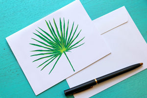 Palmetto Leaf Notecards