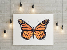 Load image into Gallery viewer, Monarch Butterfly Art Print