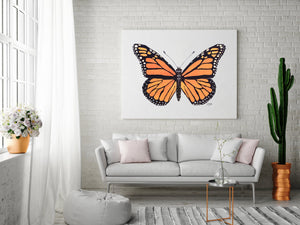 Monarch Butterfly Painting by Alexandra Nicole