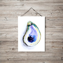 Load image into Gallery viewer, Oyster Shell Art Print Series Oyster 1 by Alexandra Nicole