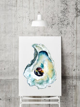 Load image into Gallery viewer, Wellfleet Oyster Shell Art Print by Alexandra Nicole