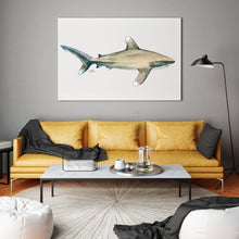Load image into Gallery viewer, Shark Print by Alexandra Nicole