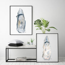 Load image into Gallery viewer, Discounted Fine Art Print Set of Two East Beach Oyster Shell, Gallery Wall Art