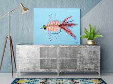 Load image into Gallery viewer, Merkin Fly, Fly Fishing Art, Fisherman Gifts, Fly Fishing Gifts, Fishing Flies