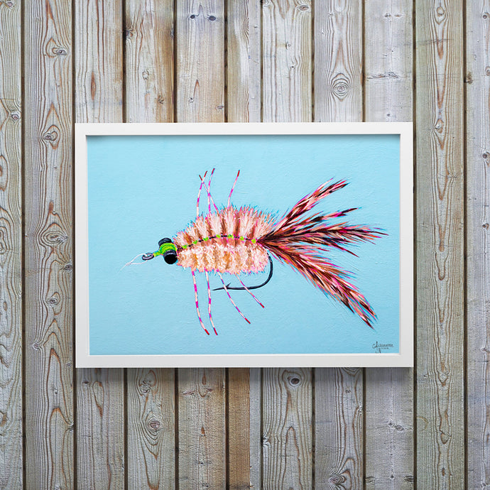 Merkin Fly, Fly Fishing Art, Fisherman Gifts, Fly Fishing Gifts, Fishing Flies