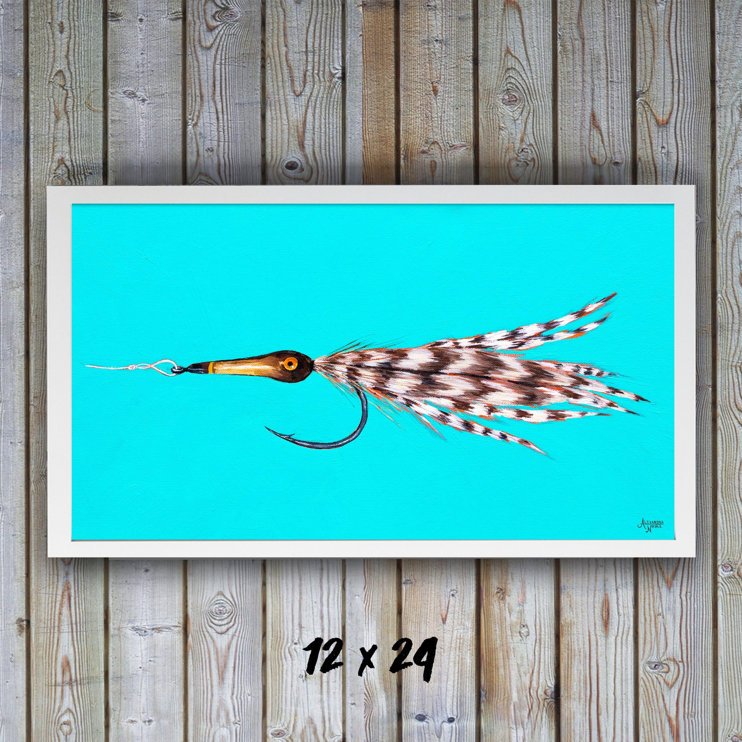 Tarpon Fly, Fly Fishing Art, Fisherman Gifts, Fishing Flies