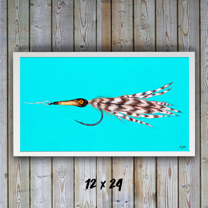 Tarpon Fly, Fly Fishing Art, Fisherman Gifts, Fly Fishing Gifts, Fishing Flies