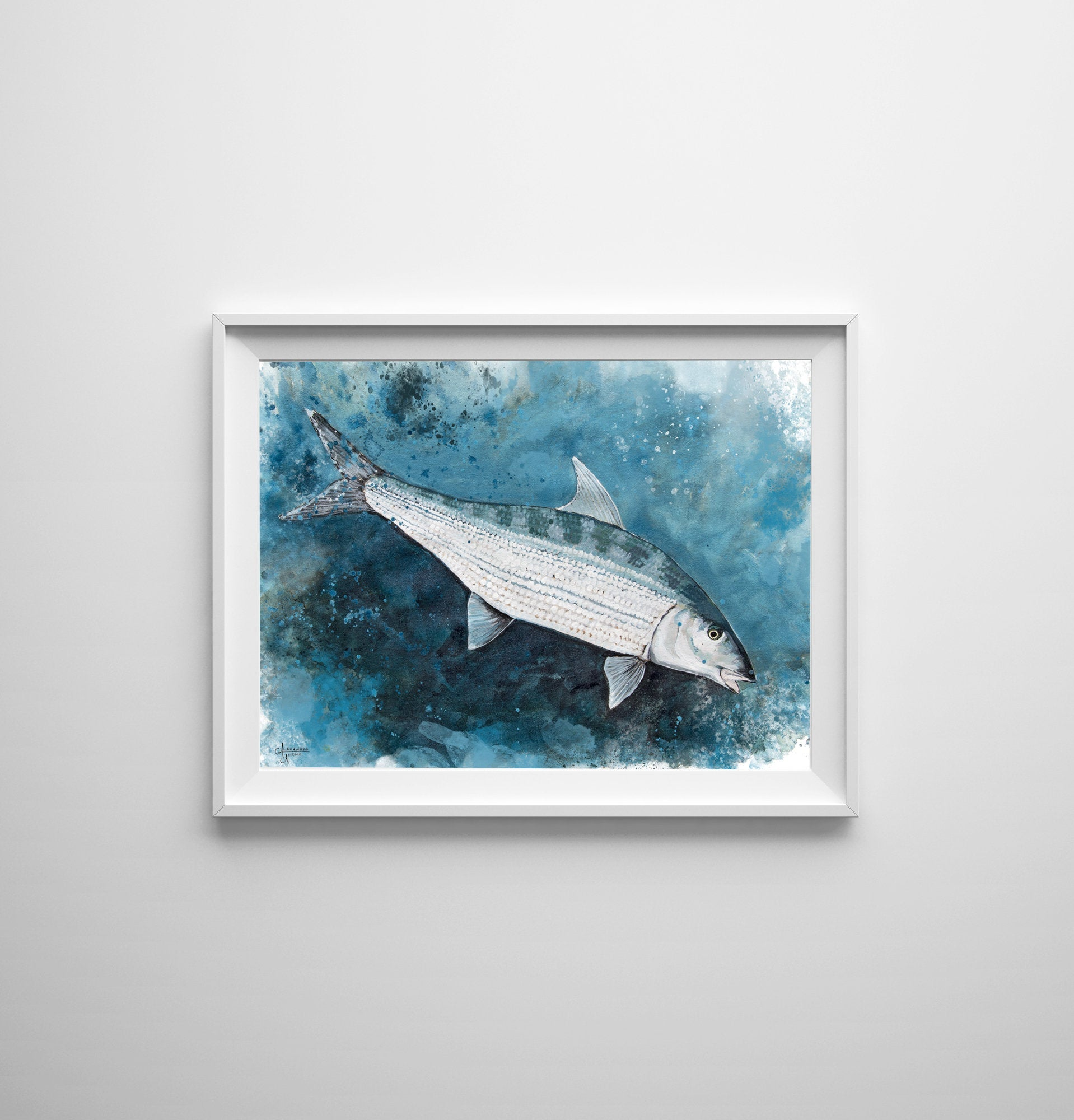 Bonefish Art, Saltwater Fish