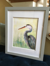 Load image into Gallery viewer, Blue Heron Painting
