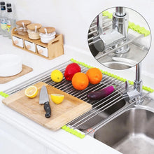 Load image into Gallery viewer, Multifunctional Dish Drying Rack