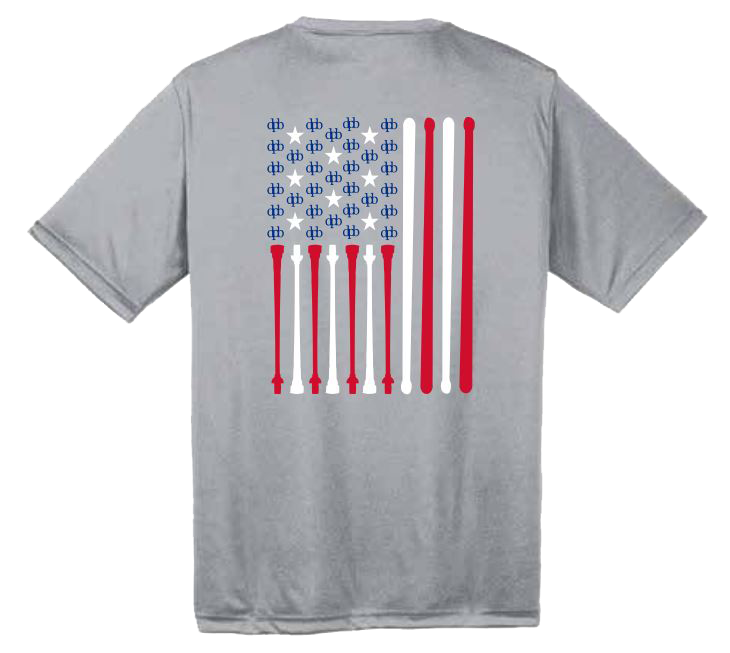 Cotton dpb Flag Shirt