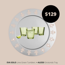 Load image into Gallery viewer, Bar Essentials Alessi Girotondo Tray and Eva Solo Tumbler Glasses