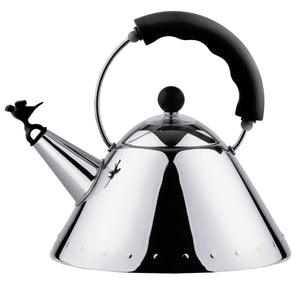 Alessi Michael Graves Kettle in Black 9093 B