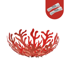Load image into Gallery viewer, Alessi Mediterraneo Fruit Bowl 29cm in Red ESI01/29 R Main01
