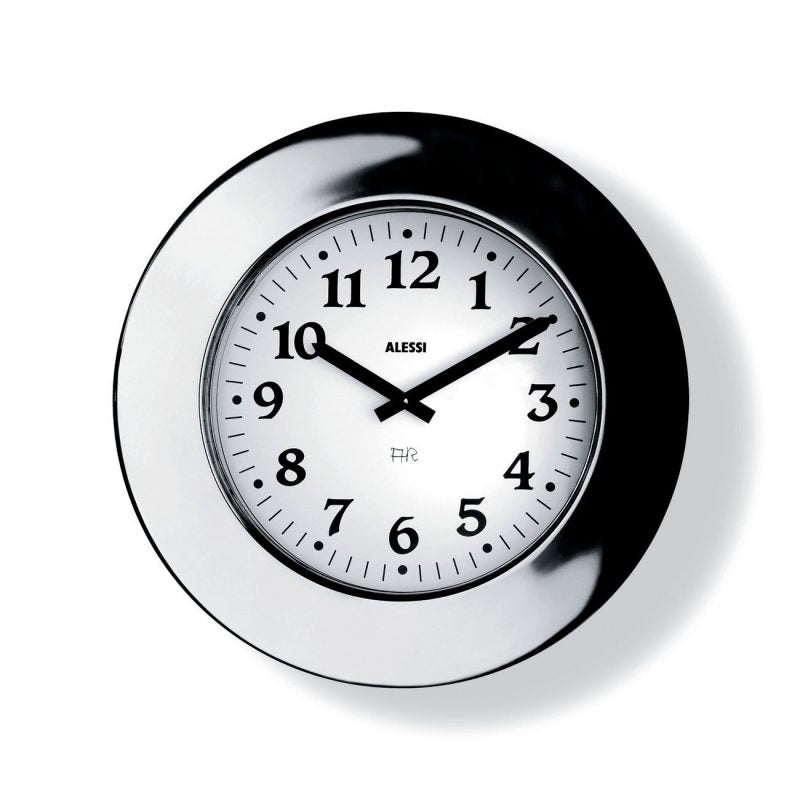 ALESSI | Momento Wall Clock - Stainless Steel